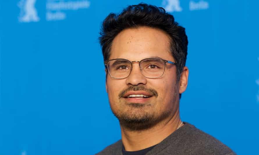 'There's a bigger percentage of good cops than bad cops' ... Michael Peña at the Berlin film festival