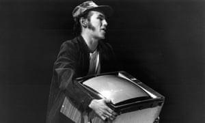 Mark Rylance in True West in 1994, directed by Matthew Warchus.
