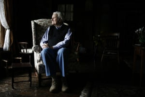 Graham at his home in the mountains of Montreat, North Carolina in 2006