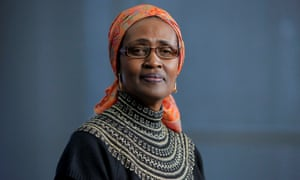 Oxfam International's executive director, Winnie Byanyima