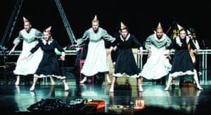 Michael Keegan Dolan's production of Swan Lake