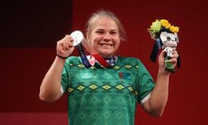 Weightlifter Polina Guryeva