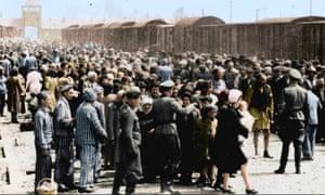 Image from the Auschwitz Album.