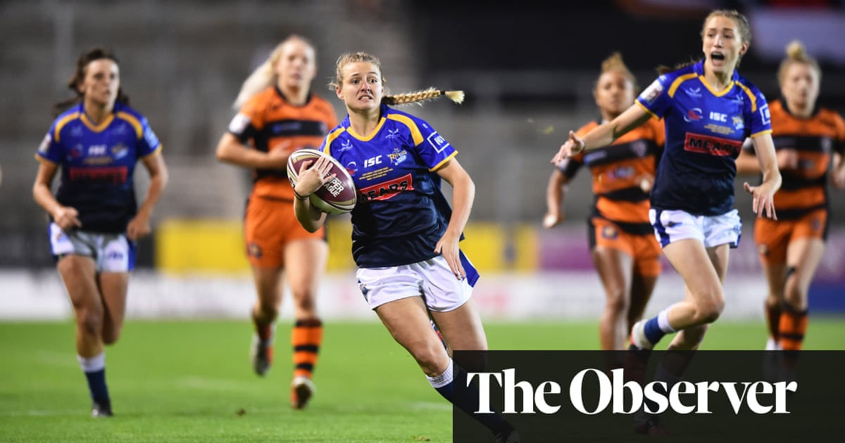 Rugby league's female players eager to make most of Super League return