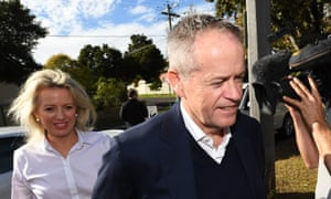 Bill Shorten with wife Chloe