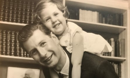 Alan Jacobs with his daughter, Laura, in 1960, when he was still working for his family's firm, Willerby's