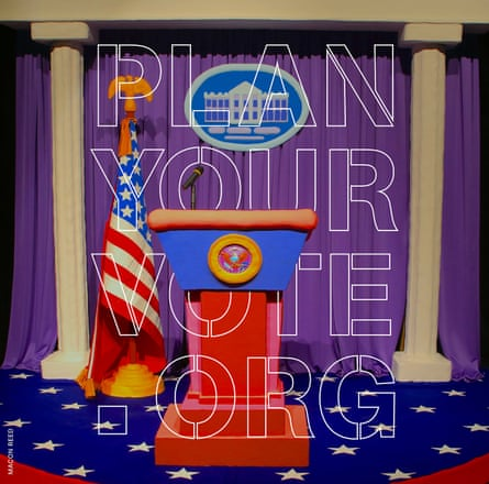 Plan Your Vote art by Macon Reed