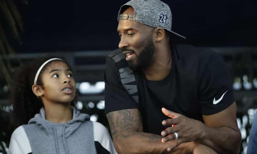 Kobe Bryant and his daughter Gianna in July 2018.