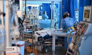 Clinical staff in the ICU