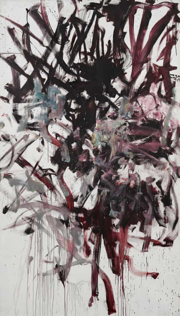 Red Tree, 1976 by Joan Mitchell.