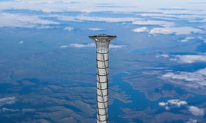 going up space elevator could zoom astronauts into earths stratosphere