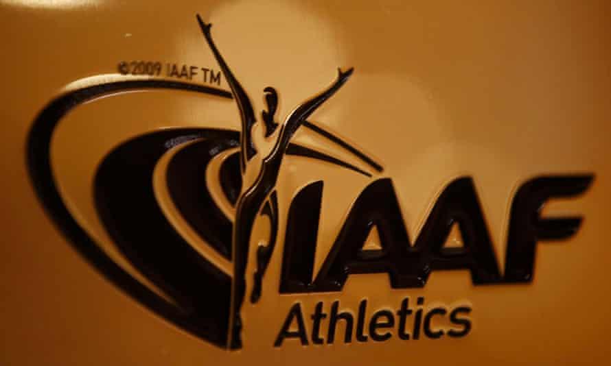 The IAAF's logo