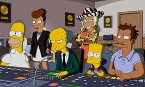 The Great Phatsby: rap and The Simpsons have flirted for some time, but not once has the relationship actually borne any fruit.