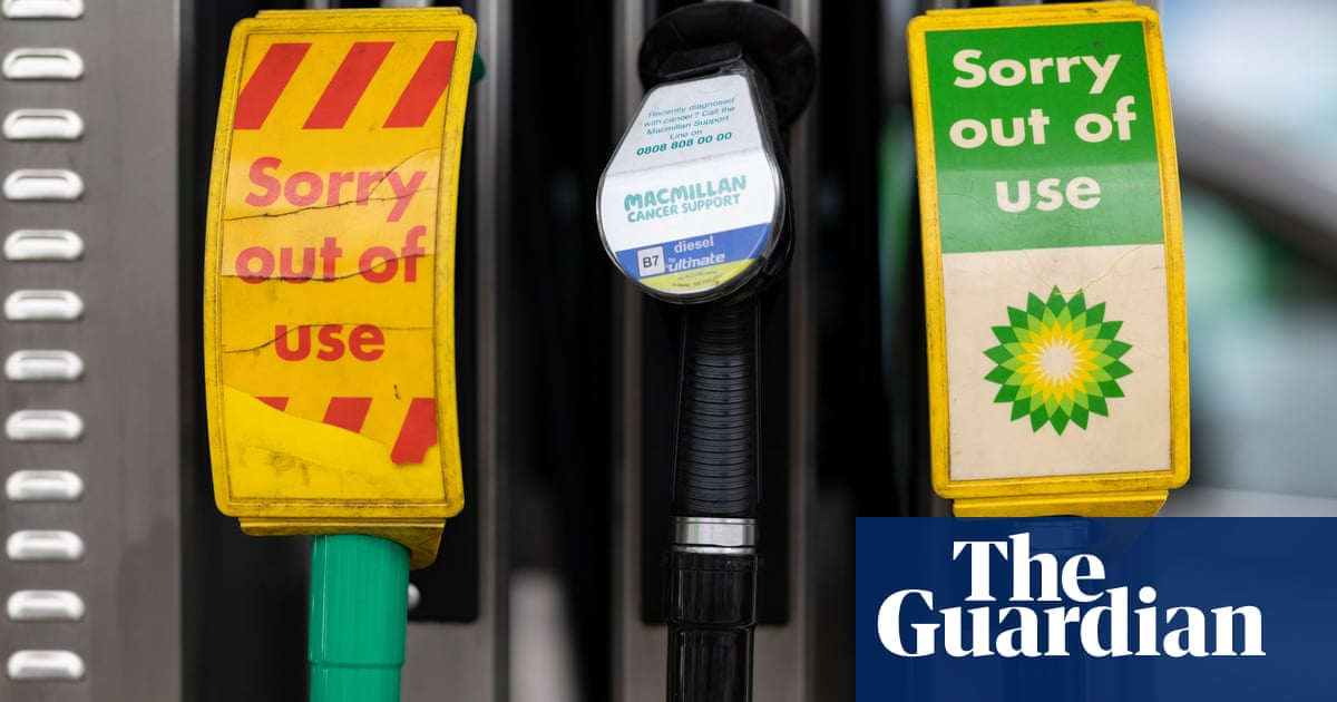 BP rations petrol and diesel deliveries to its service stations