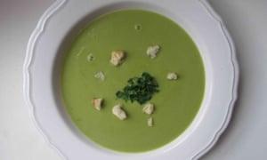 Jane Grigson's asparagus soup.