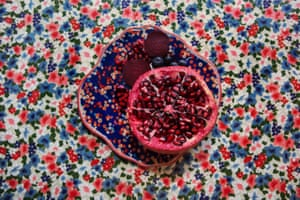 From The Cookbook, a project by New York photographer Lucia Fainzilber which explores the colour of food.