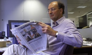 Patrick Ensor, Guardian Weekly's editor