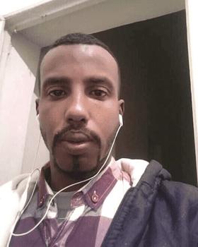 Abdulaziz, the Somali who set himself on fire in October