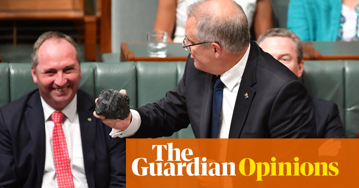 Remember Morrison's black-rock moment? Well, look who's scared now | Katharine Murphy