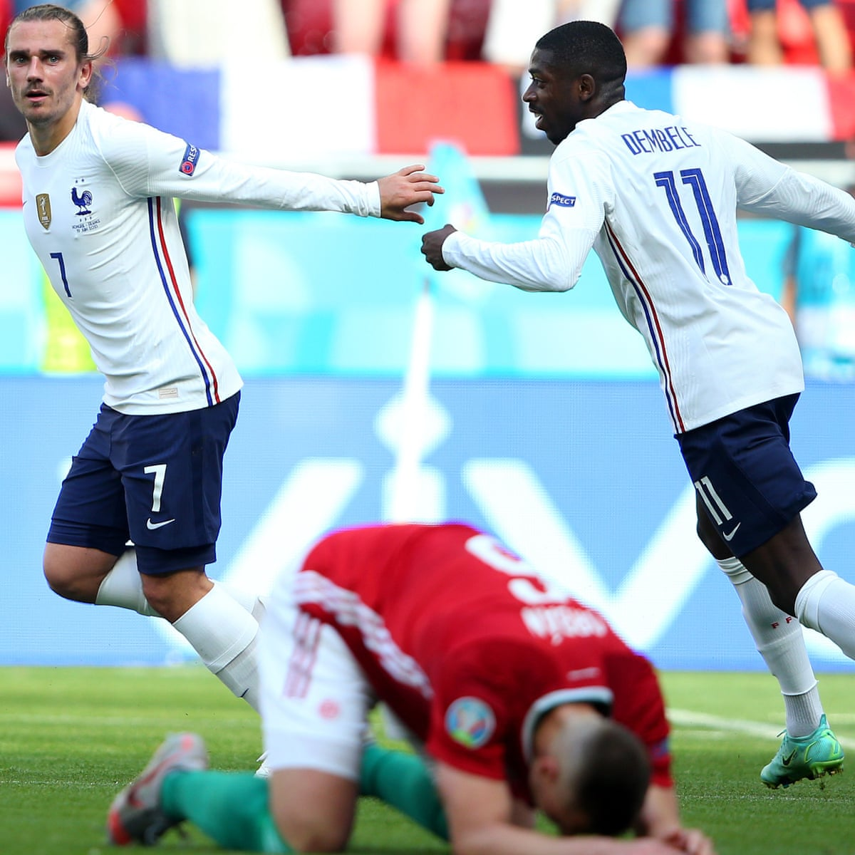 We Re Angry Griezmann Calls For France To React Against Portugal Euro 2020 The Guardian