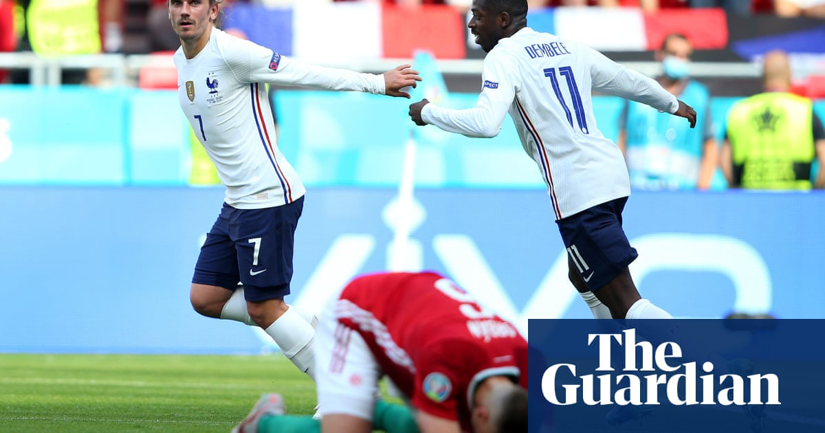 'We're angry': Griezmann calls for France to react against Portugal