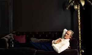 'I did that again? Are you serious?': Bill Nighy wears shirt by Drakes; trousers by Scott Fraser and shoes by Joseph Cheaney & Sons