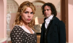 Billy Piper as Fanny (with Joseph Beattie as Henry) in a 2007 ITV1 adaptation of Mansfield Park.