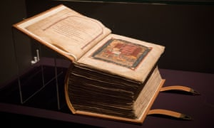 The Codex Amiatinus joins another work produced at Wearmouth-Jarrow Abbey during the same period, St Cuthbert gospel.