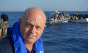 Ross Kemp goes to sea with the Libyan coastguard.