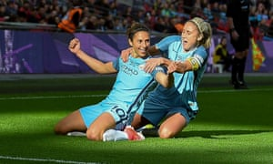 Carli Lloyd won the women's FA Cup with Manchester City this month