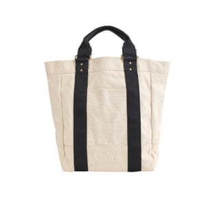 Canvas and leather bag, £67, jcrew.com