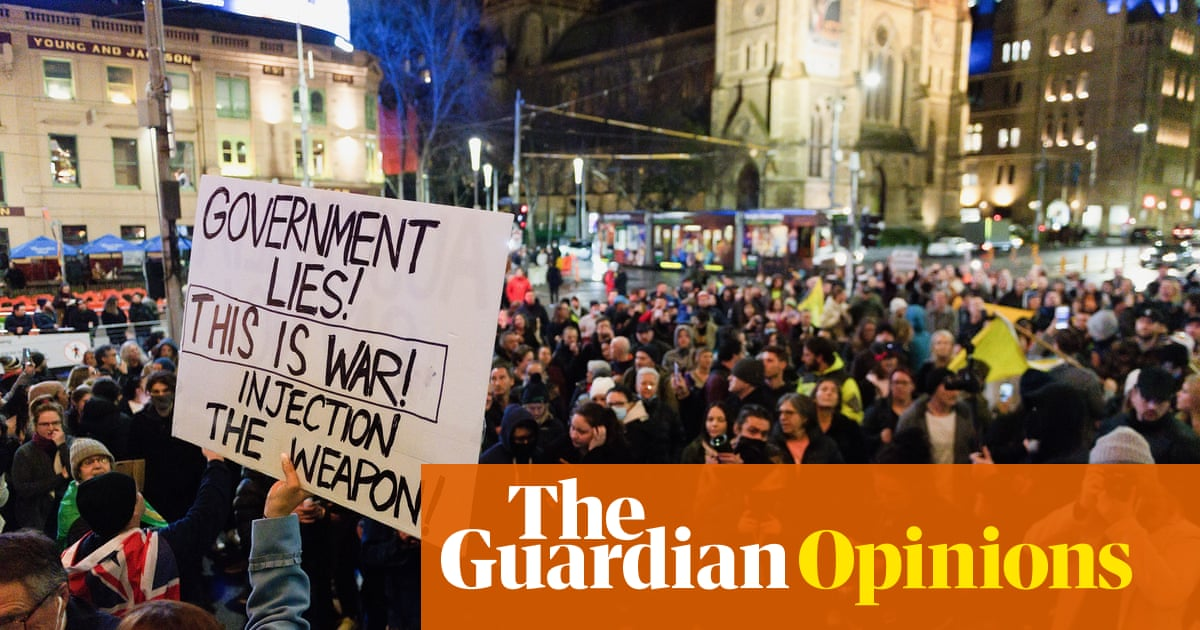 Anti-vaxxers and Covid conspiracists may seem wackier – but pandemic protest isn't new