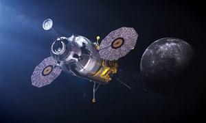 An artist's impression of a possible 2024 lunar lander