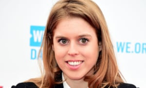 Princess Beatrice as she prefers to be seen in public.