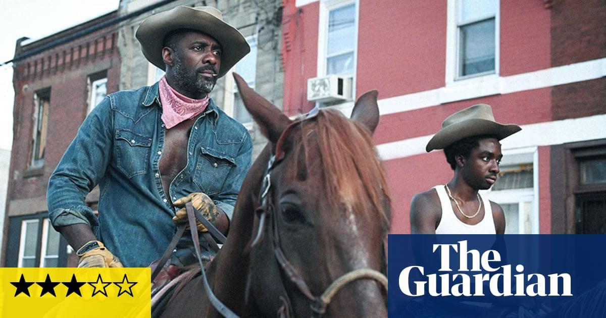 Concrete Cowboy review – Idris Elba saddles up for powerful father-son drama