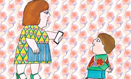 Not now, Bernard ... I'm on my iPhone: classic children's text reissued for digital era