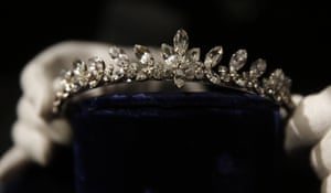 A colourless paste tiara from the film A Nun's Story.