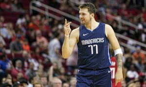 Luka Doncic has helped the Mavericks into a playoff place in the stacked Western Conference