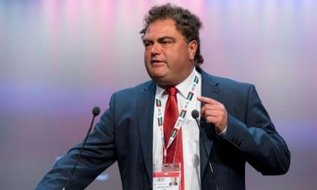 TSSA general secretary Manuel Cortes