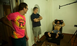 Tickled's David Farrier and Dylan Reeve.