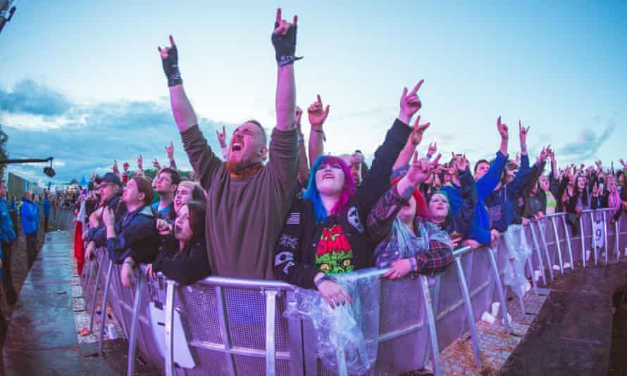 The Download festival at Donington Park, June 2019