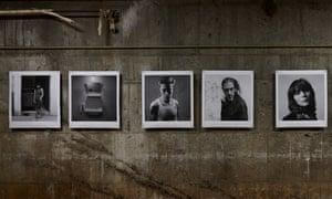 Alberto García-Alix's exhibition, Irreductibles, in a former ice factory in Kyoto