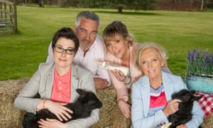 Mary Berry, Paul Hollywood, Sue Perkins, Mel Giedroyc