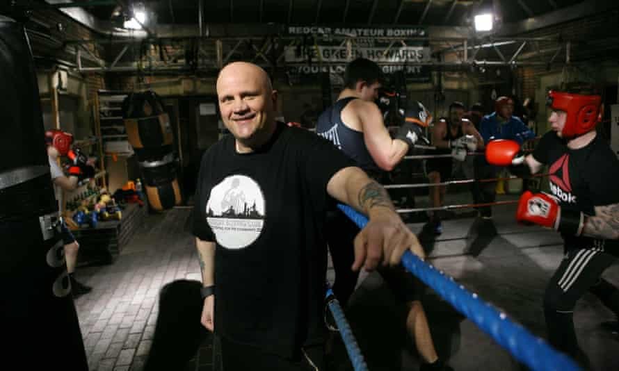 'We have lots of entrepreneurial kids, but the only entrepreneurial activity going on around here is selling fags and drugs,' says boxing club owner Frankie Wales.
