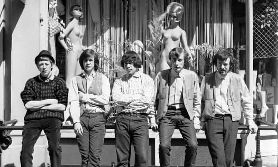 The Pretty Things in 1964 with (from left) Viv Prince, Phil May, John Stax, Brian Pendleton and Dick Taylor.