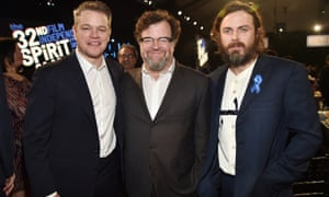 The team behind Manchester by the Sea: producer Matt Damon, writer/director Kenneth Lonergan and award-winning star Casey Affleck.