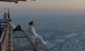 French rap duo PNL, the first band to film a video inside the Eiffel Tower.