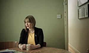 'I'd only ever have taken a seat in the Midlands': at home in Birmingham, where she lives with her family.