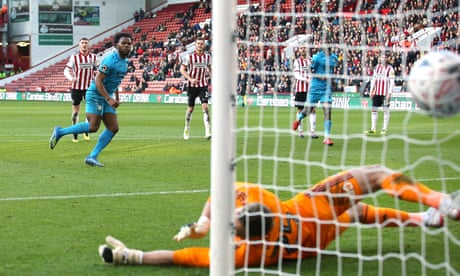 Shaquile Coulthirst fires Barnet to shock FA Cup win over Sheffield United