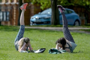 Women in Greenwich park, London